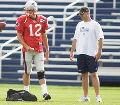 Bill O'Brien with Tom Brady