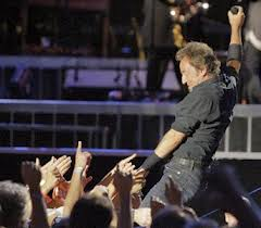 Bruce Springsteen at Fenway Park