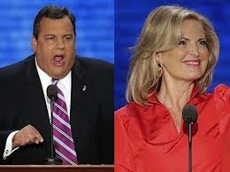 ann romney and chris christie
