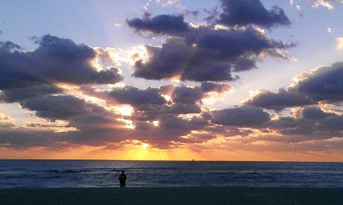 South Beach sunshine, sales blog, dennis connelly