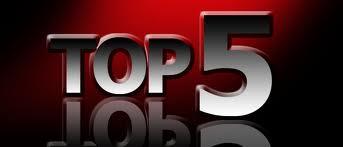top 5 sales articles