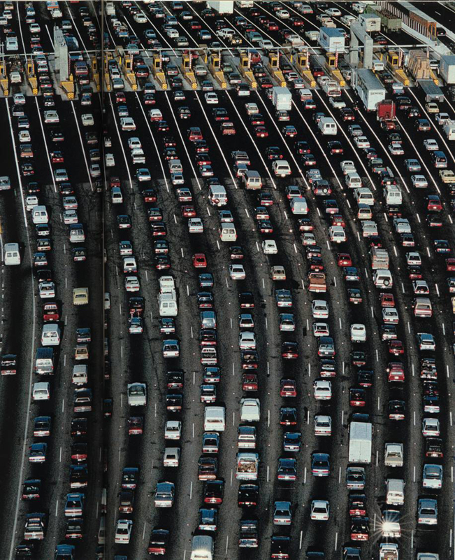 traffic jam, sales process