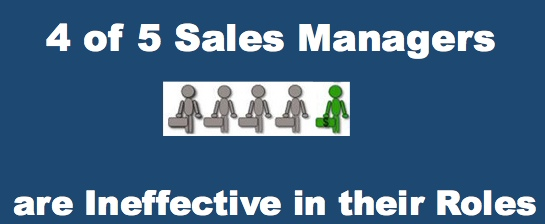 4 of 5 sales managers