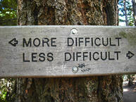 more difficult