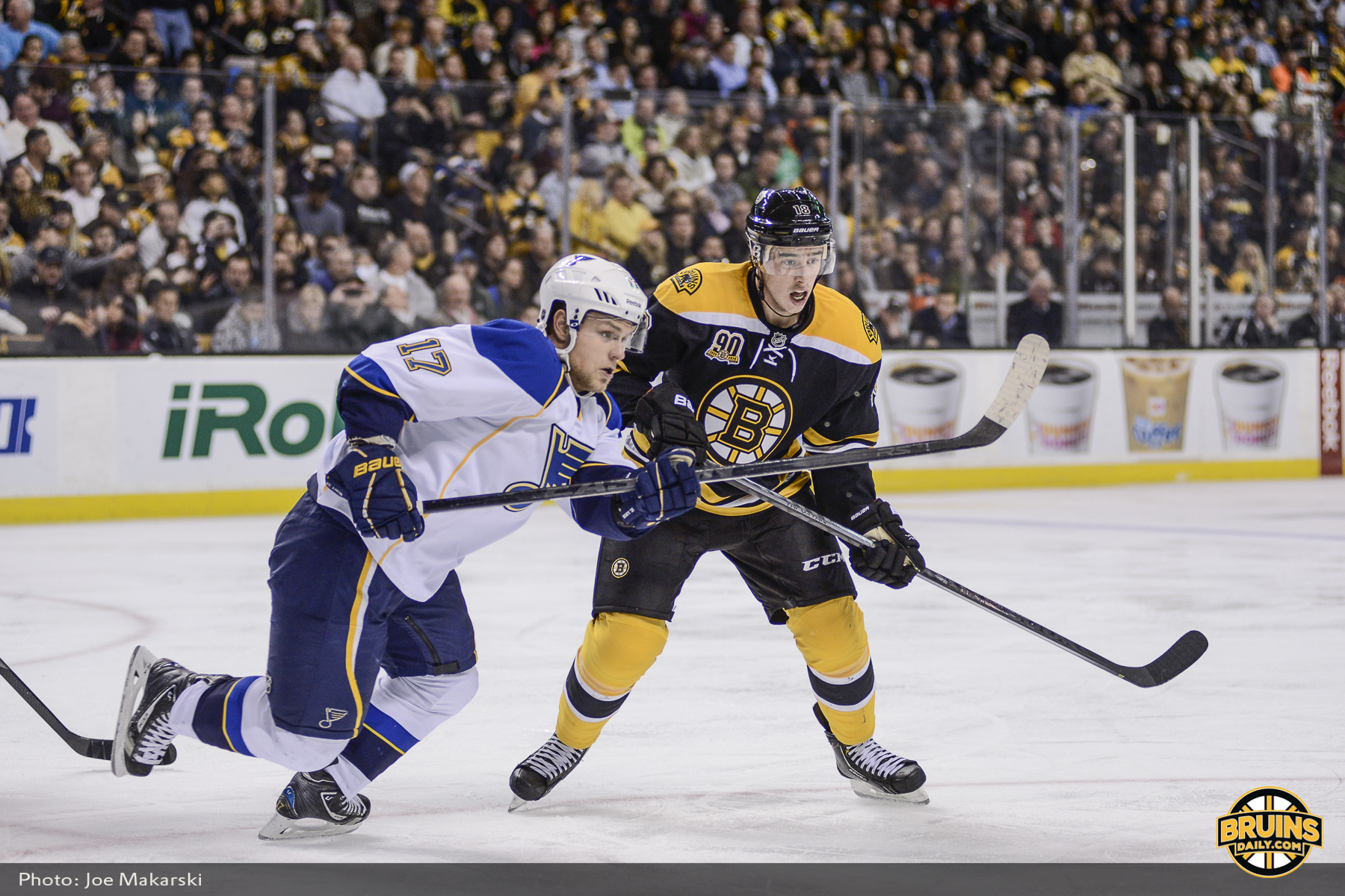 Bruins-Blues three takeaways