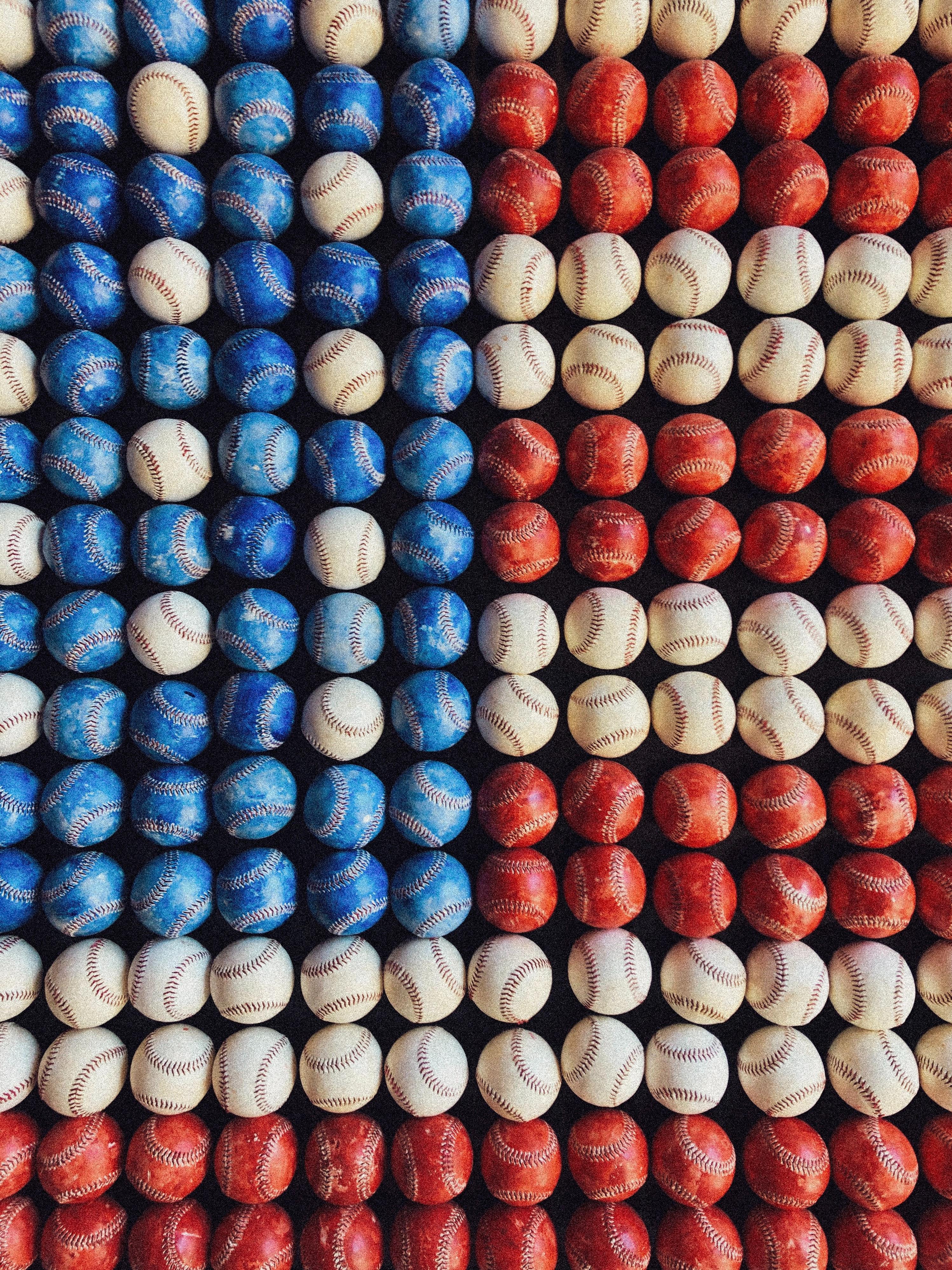 baseball flag